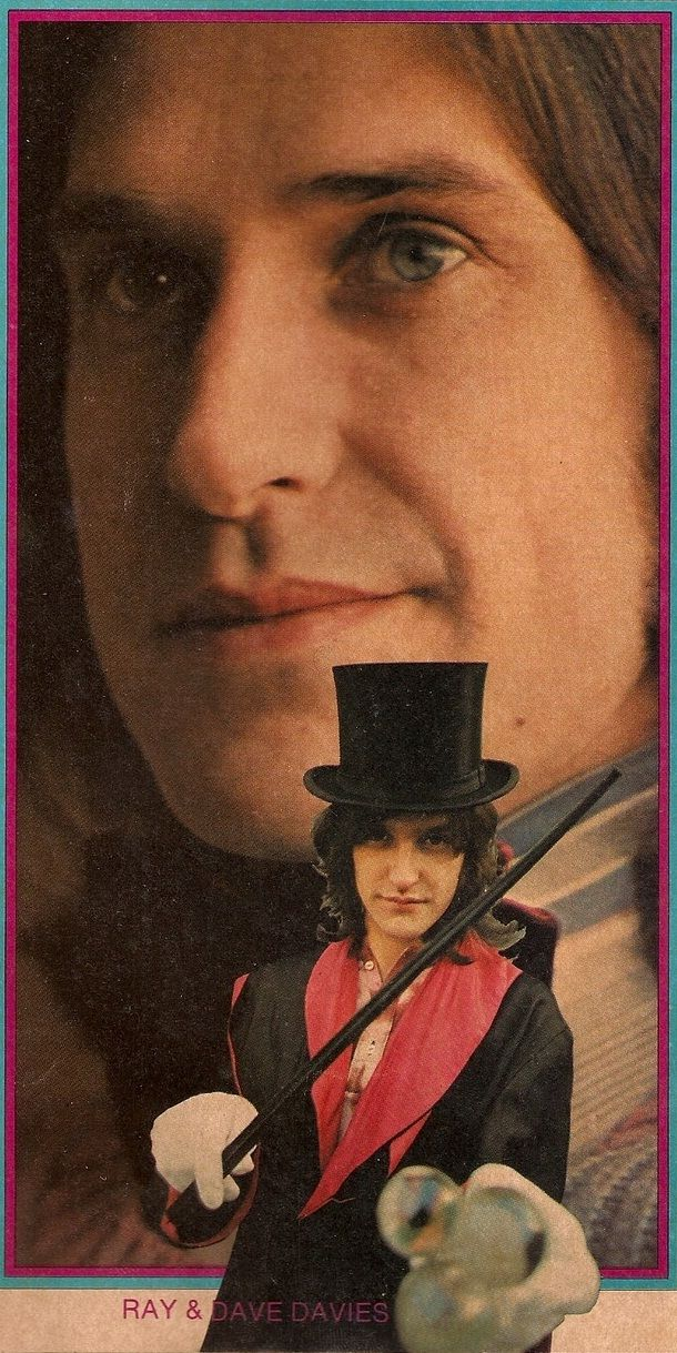 Ray and Dave Davies of The Kinks  One of the most underrated bands