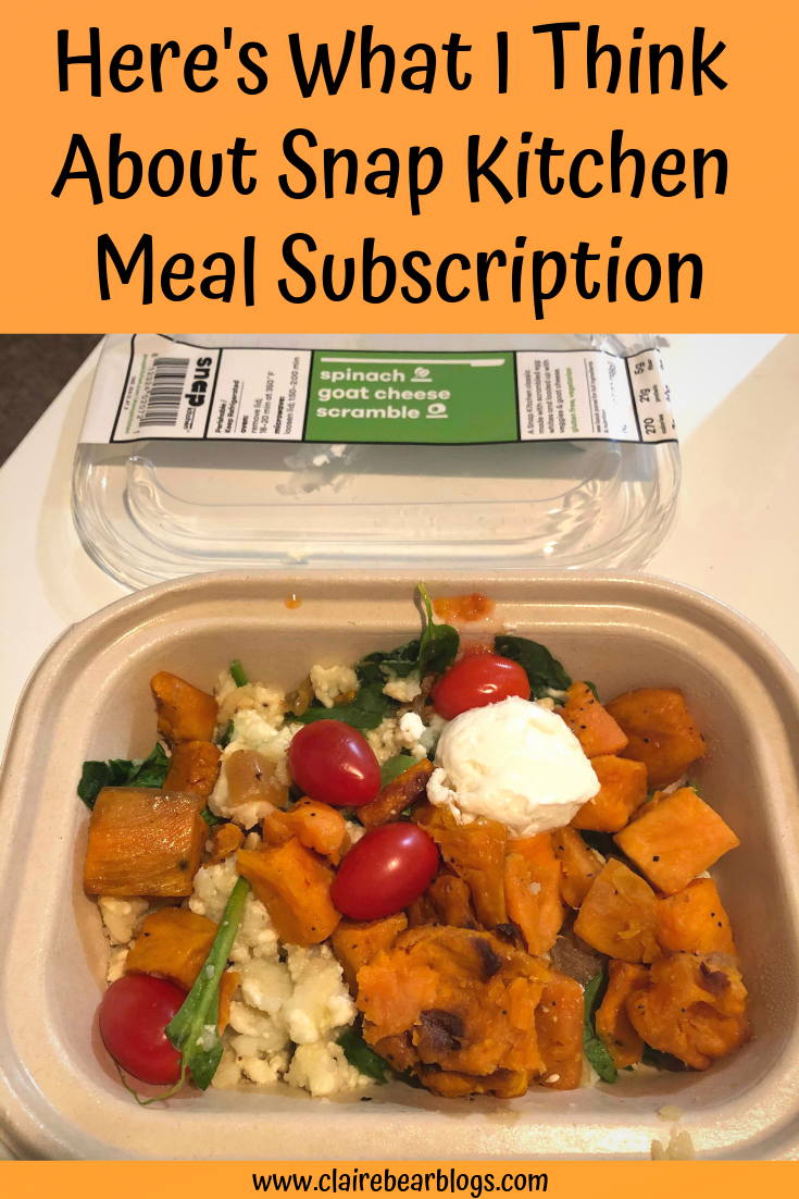 Here S What I Think About Snap Kitchen Meal Subscription Meals
