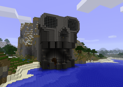 cool minecraft skull random Pinterest Minecraft