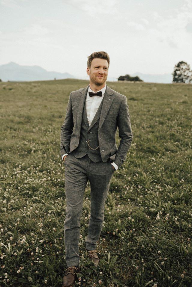 Chic Wedding Suit for Groom | Schicke Hochzeitanzüge Anzüge für Männer Bräutigam – Boda fotos