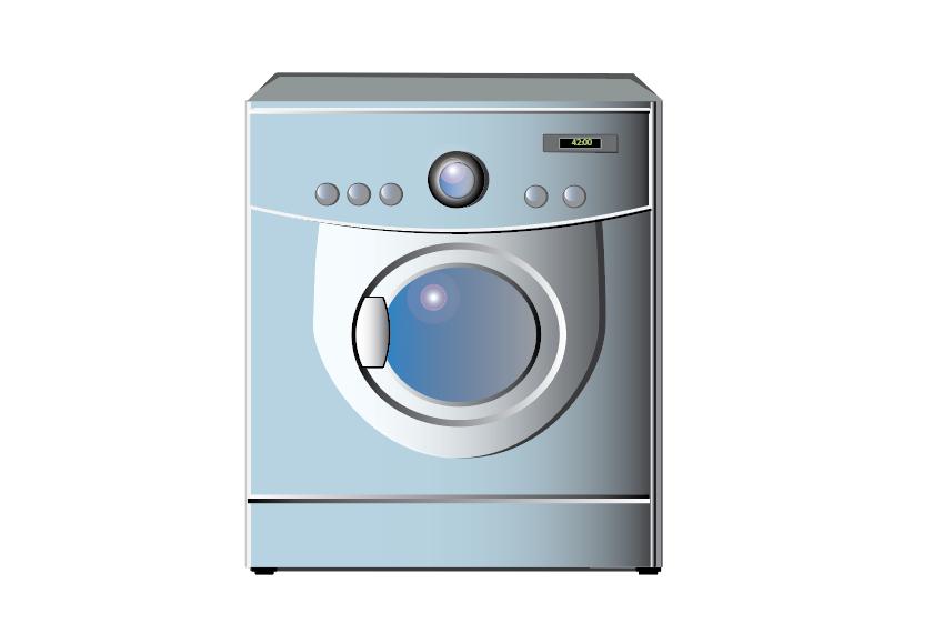 Washing Machine Motion Graphic Washing Machine Washing Motion