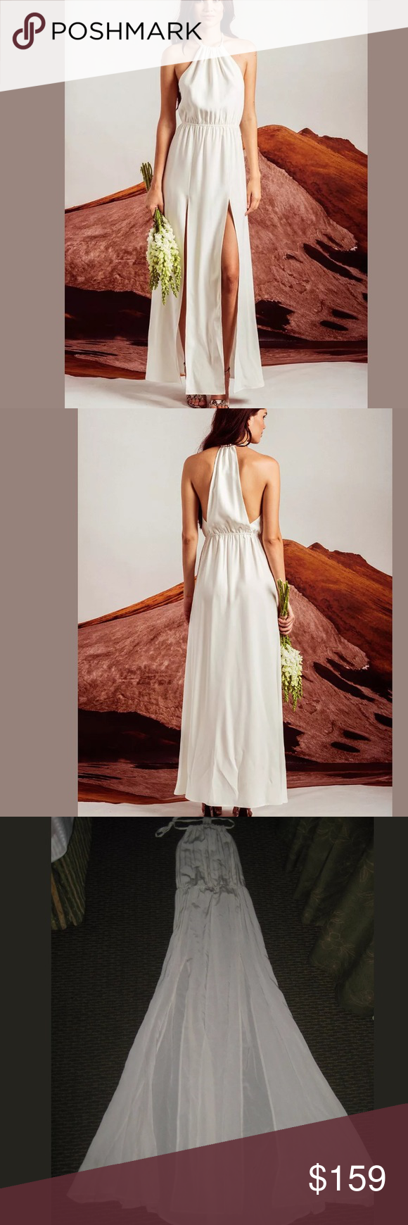 Stone cold fox onyx gown ivory silk charmeuse 2 for a simple yet stone cold fox onyx gown ivory silk charmeuse 2 for a simple yet elegant option for a bridal gown bridesmaid dress or any other formal situation ombrellifo Choice Image