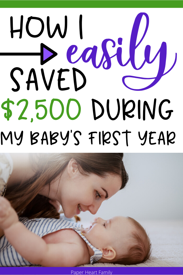 How To Save 2 500 During Baby S First Year Babies First Year Newborn Care Baby Necessities