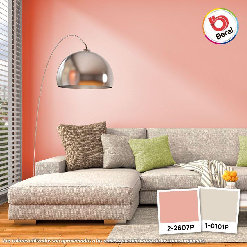 Los sofás en color claro son muy versátiles al momento de combinar ...