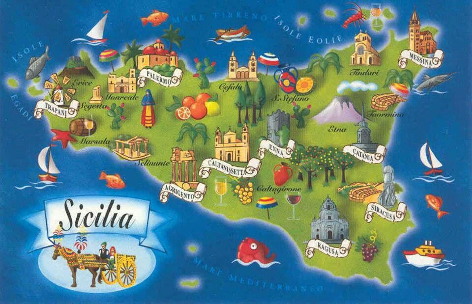 Pin by Jennifer Ellis on Everything Italian | Sicily ...