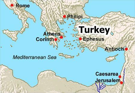 Map Of Ephesus Ruins Ephesus Maps Where Is Ephesus About