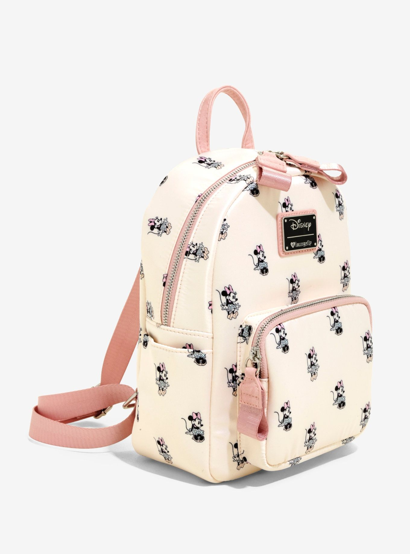 35f5c5a820 Loungefly Disney Minnie Mouse Satin Mini Backpack in 2019