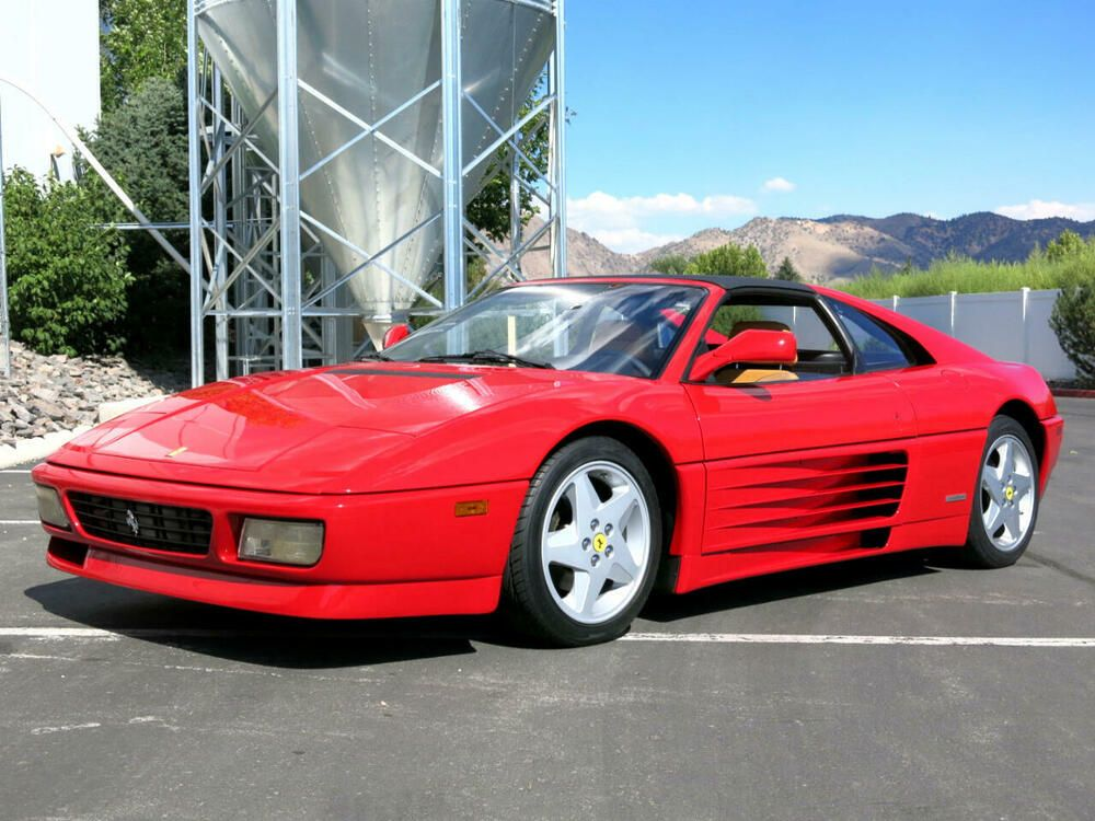 1990 Ferrari 348ts Targa 1990 Ferrari 348ts Targa Price