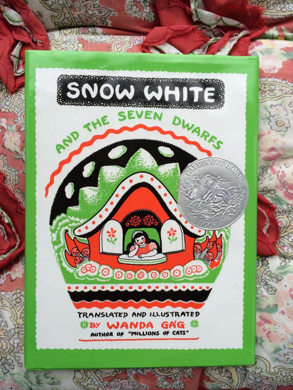 Wanda Gag Snow White by lishyloo on Etsy