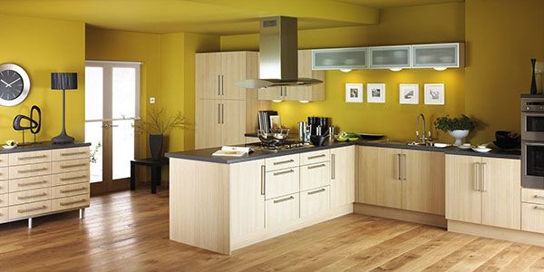 yellow wall ideas for kitchens | KITCHENS | Pinterest | Wall ideas ...