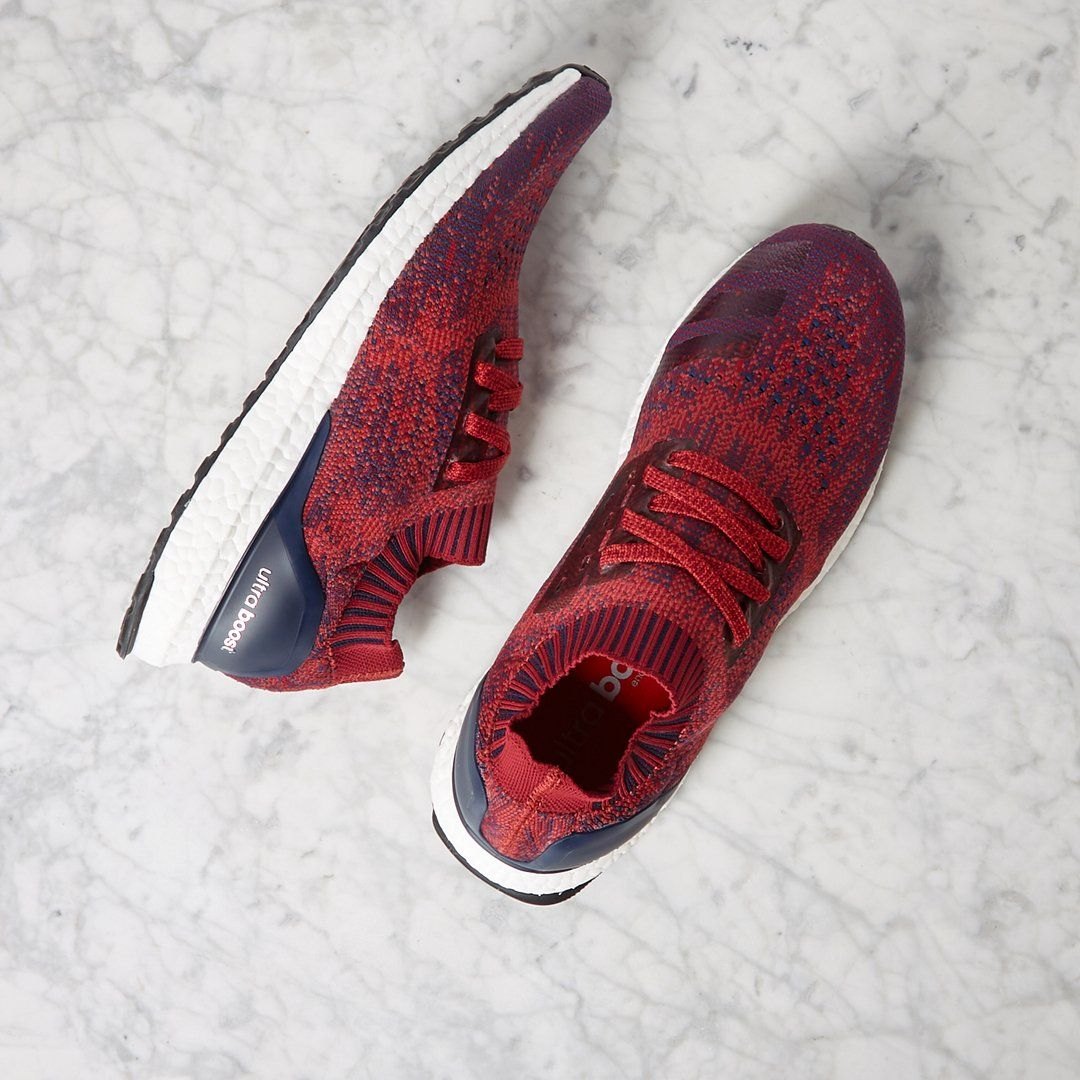 581433390 Adidas Ultra Boost Uncaged Mystery Red   Burgundy Shop Now via END.  Clothing  Adidas  Inside  Sneakers
