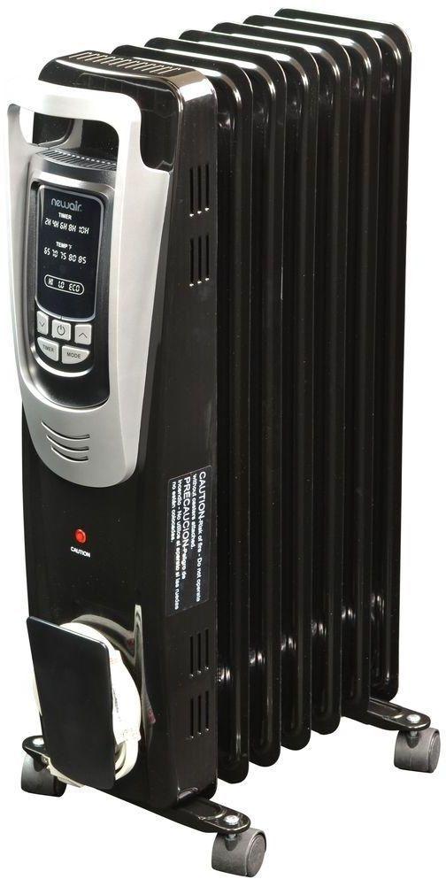 NewAir 1500-Watt Electric Oil-filled Radiant Portable Indoor Space ...