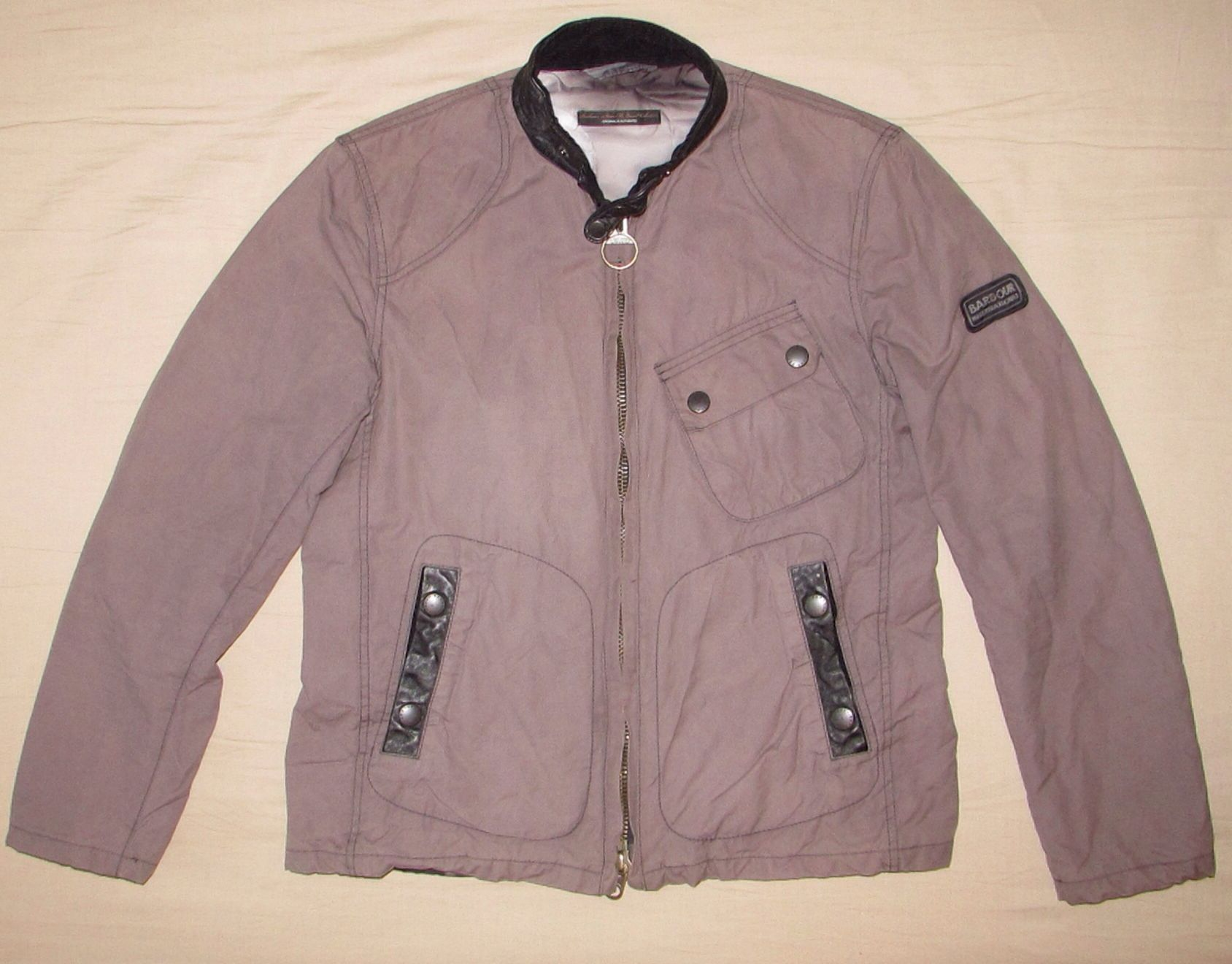 51. Barbour International Steve McQueen Greenham Jacket