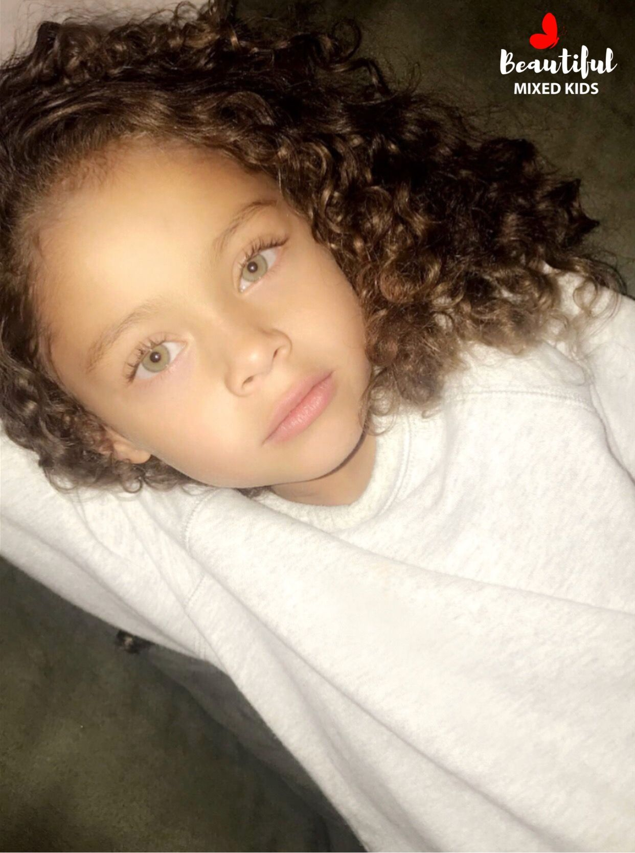 Alaiya 5 Years German Mexican African American Mix Baby Girl Mixed Kids Cute Black Babies