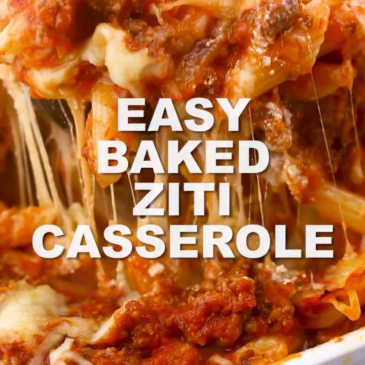 Easy Baked Ziti Casserole images