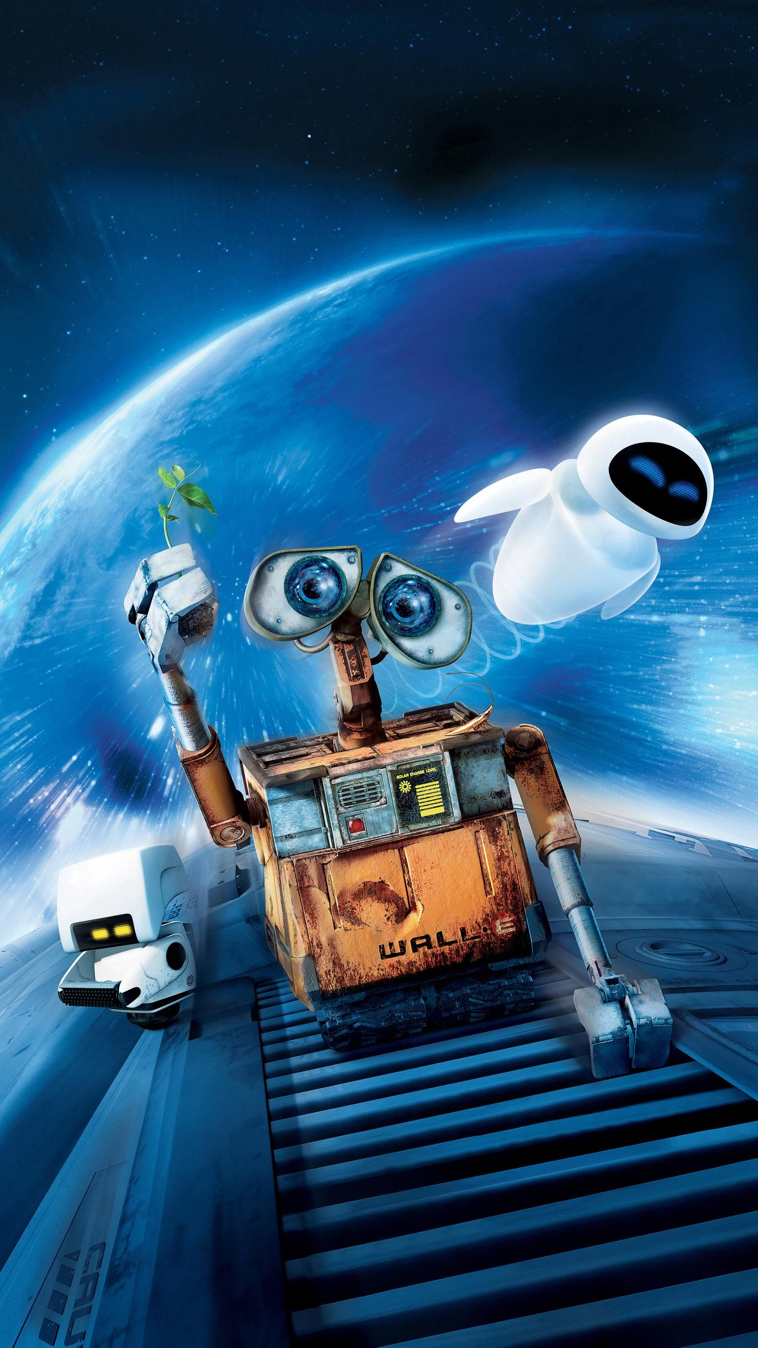 WALLE. This is one of the CUTEST movies ever made, and a