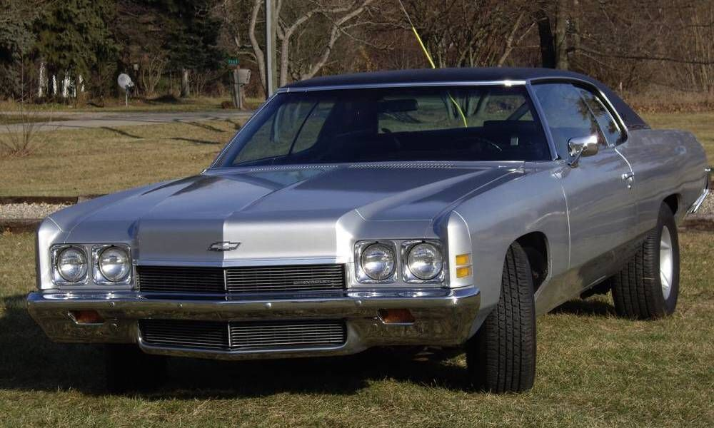 1972 Chevrolet Impala 2 Door Hardtop Aucton Results 4 800 Chevrolet Impala Impala Chevy Muscle Cars