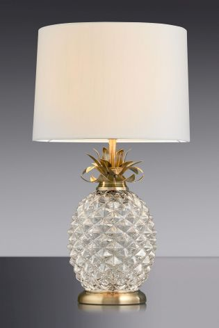 Buy pineapple glass table lamp from the next uk online shop wish buy pineapple glass table lamp from the next uk online shop mozeypictures Image collections