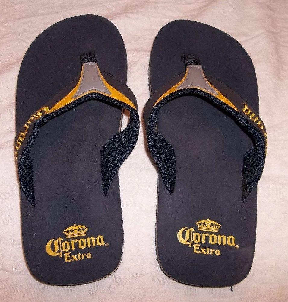 e939cc37ba2b Corona Extra Flip Flops Sandals Ladies Men s Unisex Shoe 11 Inches 4559   CoronaExtra  Sandals