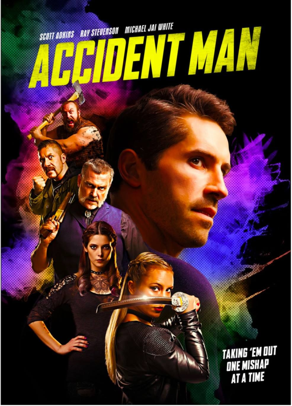 M.A.A.C. SCOTT ADKINS To Star In The LiveAction