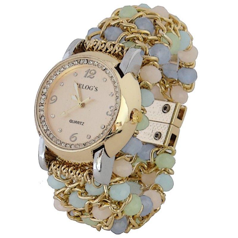 a5e7bd85cbc Relógio Feminino com cristal Tom Pastel. Delicados e Femininos ...