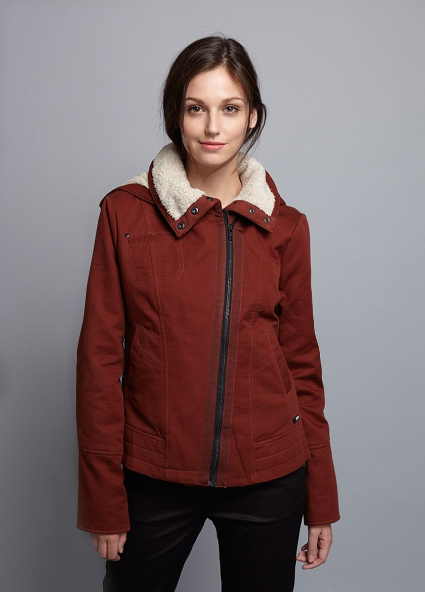 Briar Hooded Jacket In Women Outerwear At Brooklyn Industries Jackets Outerwear Women Hooded Jacket [ 1170 x 840 Pixel ]
