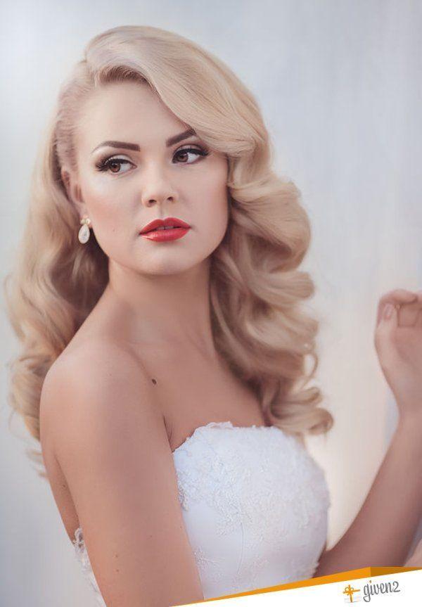 Pettinatura Sposa Anni 40 Hair Acconciatura Matrimonio Trucco