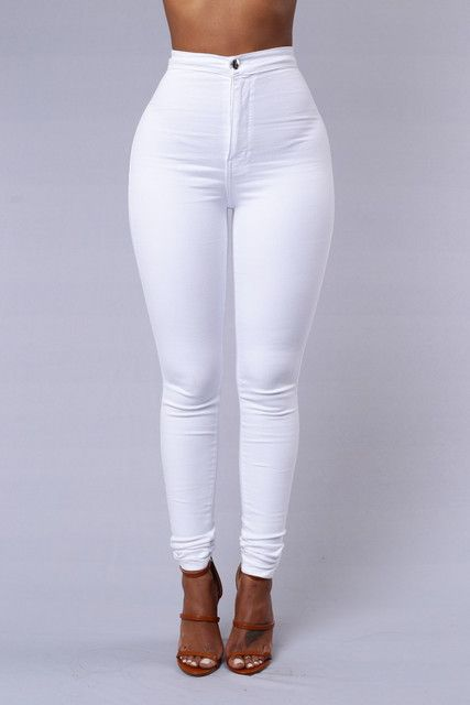 11617b8afb Classic High Waist Skinny Jeans - Medium Blue Wash