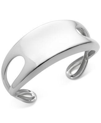 Nambé Infinity Cuff Bracelet In Sterling Silver