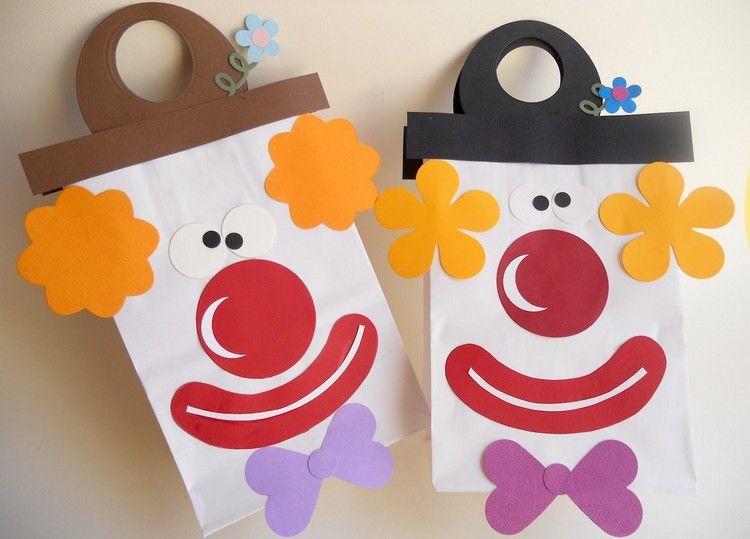 Zu Fasching Basteln Im Kindergarten Bastelideen Für Masken
