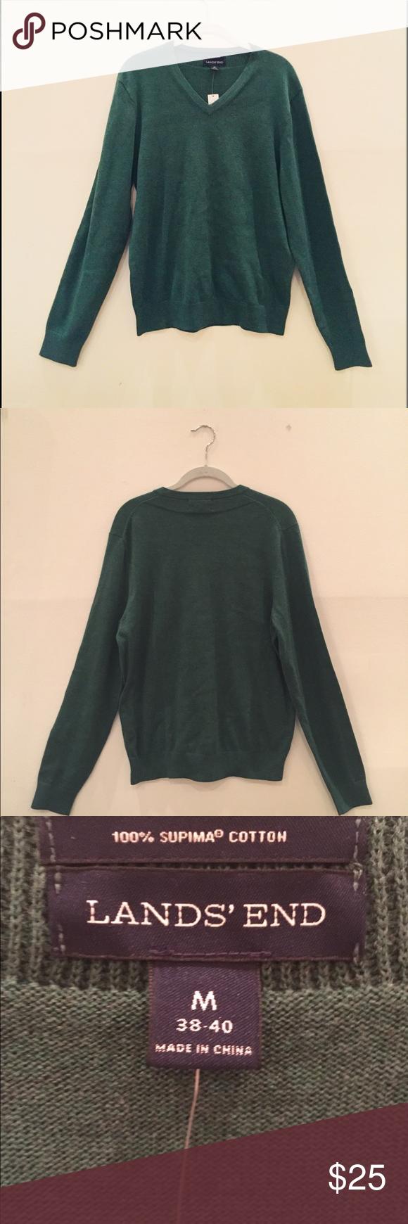 Lands End Men S Sweater Clothes Design Fashion Fashion Design [ 1740 x 580 Pixel ]