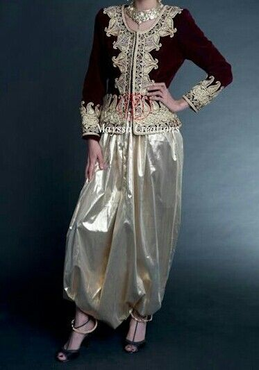 Karakou Algerie North Dz Algeria Afghan Dresses Traditional