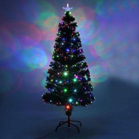 Colorful LED Color Changing LED Fiber Optic Lights Christmas Tree
