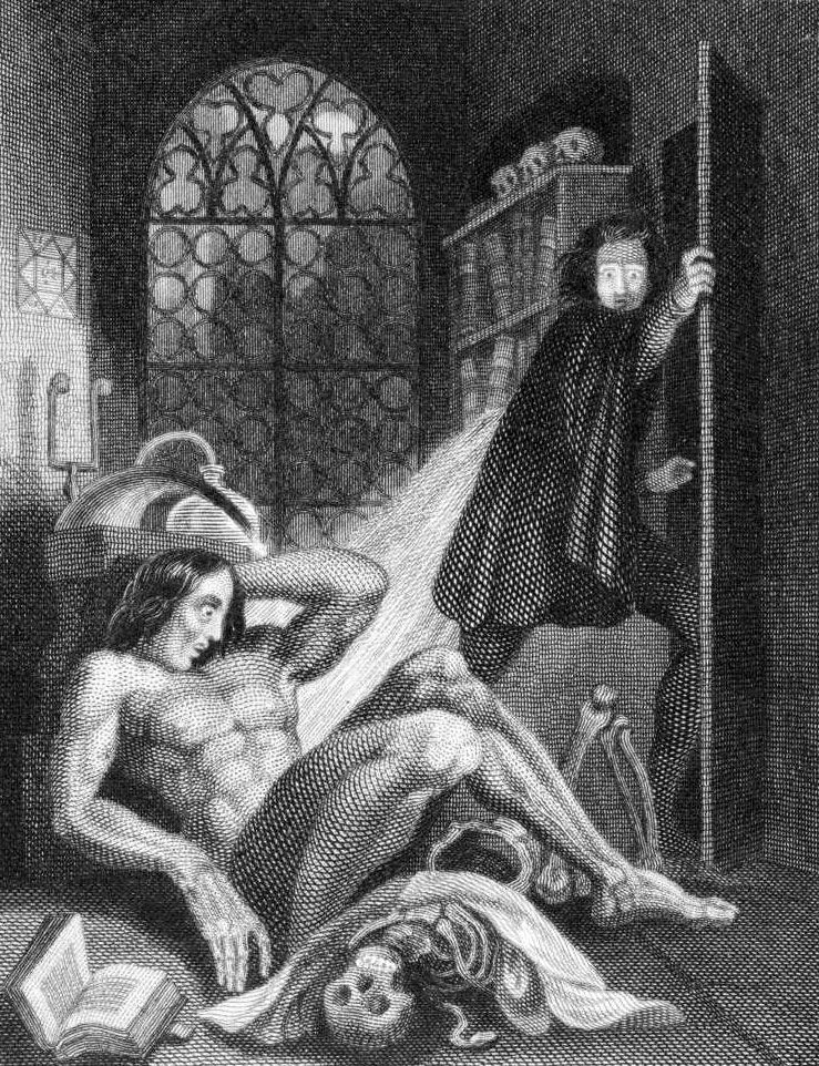 A reflection of the gothic genre in frankenstein a novel by mary shelley