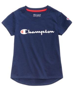 4751bbed Champion Heritage Logo-Print T-Shirt, Toddler Girls in 2019 ...