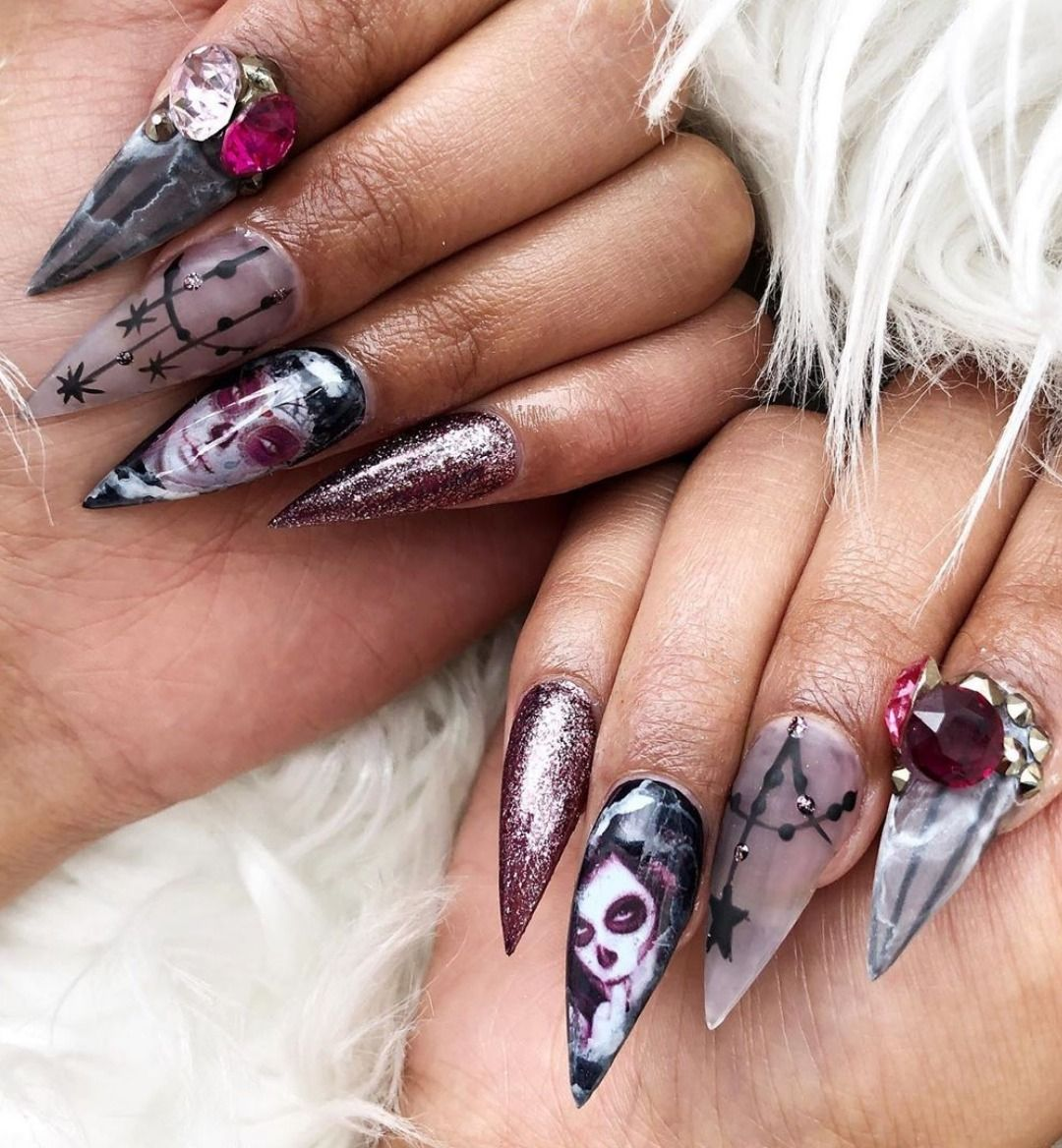 Best Halloween Nail Ideas in 2019 | Halloween nails, Nails ...