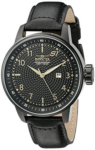 Men's Wrist Watches - Invicta Mens 19618 S1 Rally Analog Display Quartz Black Watch >>> Click on the image for additional details. (This is an Amazon affiliate link)