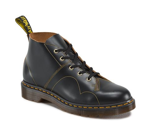 Dr Martens MIE Church Boots Oxblood Vintage Smooth