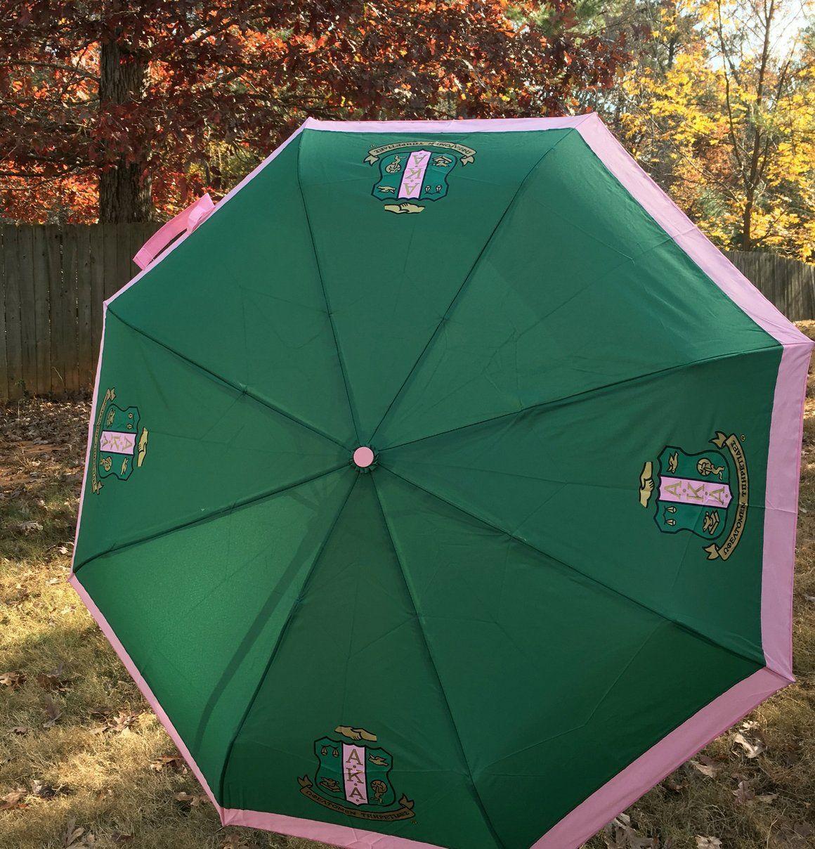 9bae60f112d0 AKA Short Umbrella | ALPHA KAPPA ALPHA ♥♡♥♡♥ | Alpha kappa ...