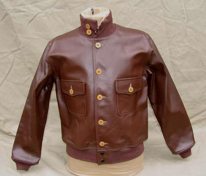 A-1 Horsehide Leather Flight Jacket | outerwear | Pinterest ...