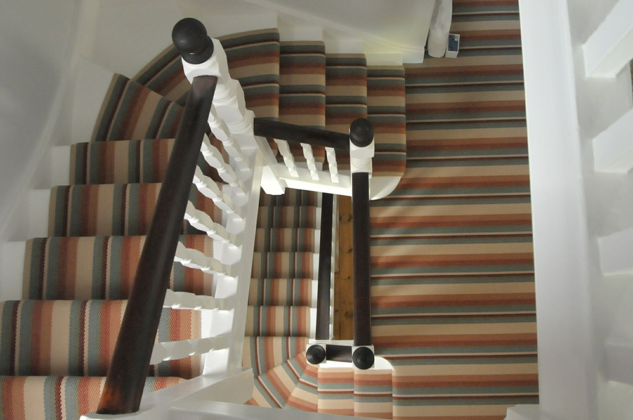 So Many Stripes Roger Oates Chartres Jute Flatweave For Stairs | Loose Carpet On Stairs | Runner | Fixing | Stair Treads | Stair Nosing | Laminate Flooring