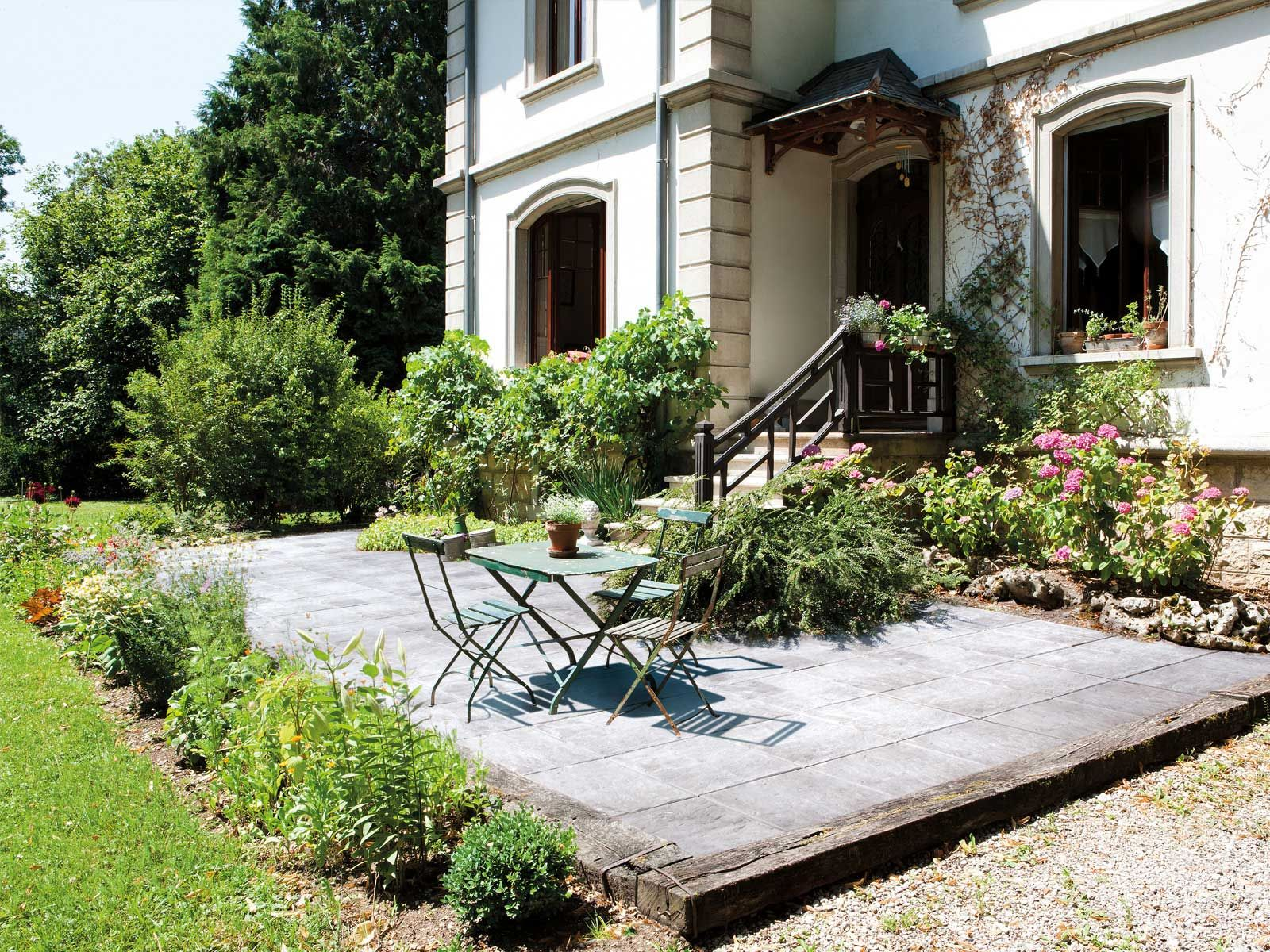Dalle Exterieur Marlux Marlux Dalle Nuagee Ambiance Cottage Paving Slabs Garden