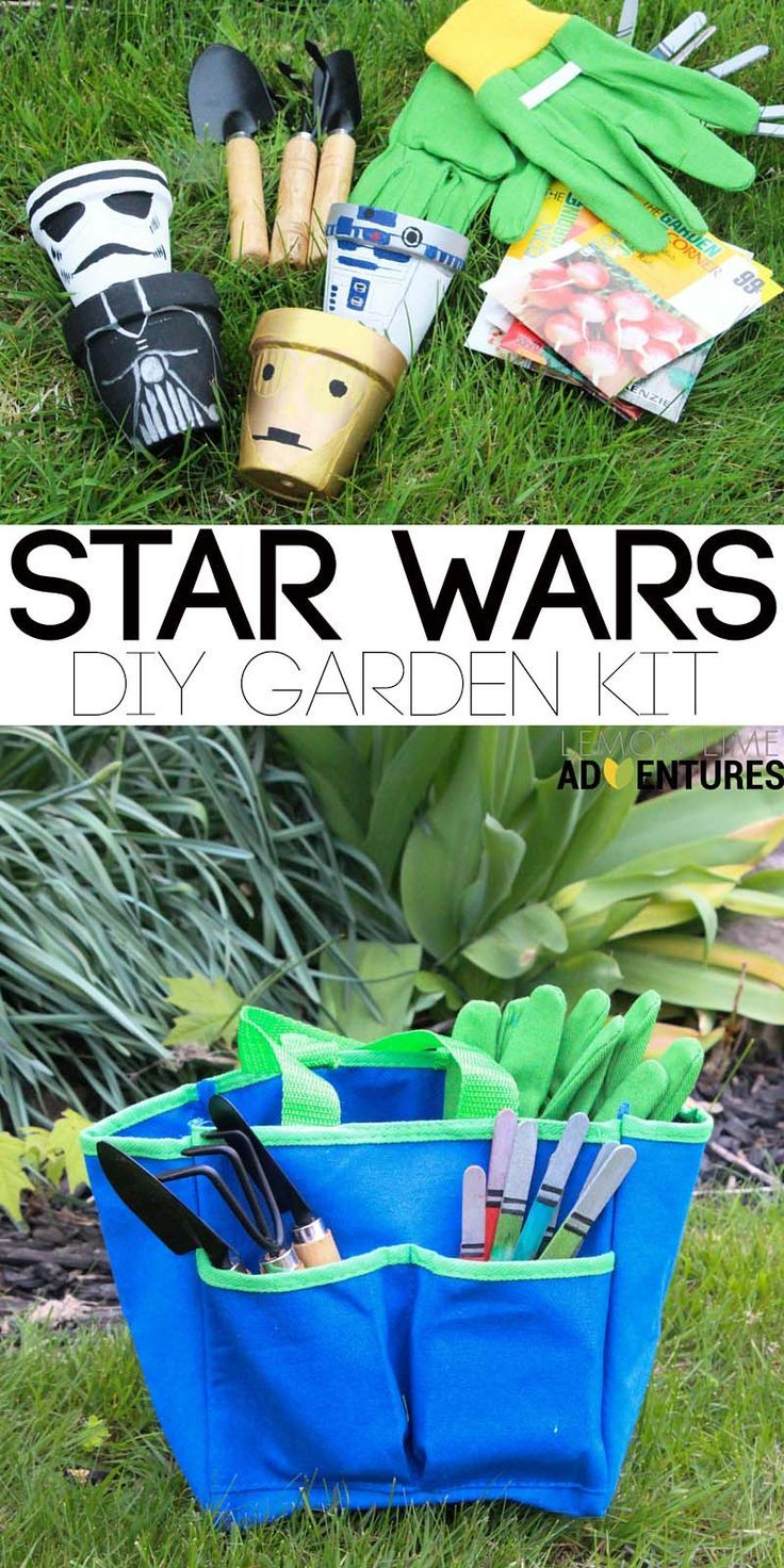 DIY Star Wars Garden Kit | Diy party ideas, Home-made party and Star