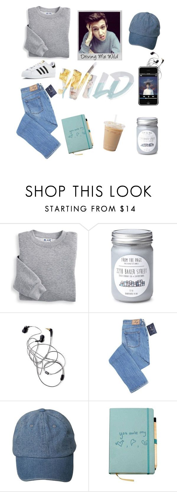 """""""Driving Me Wild"""" by denise-gustin9 on Polyvore featuring Blair, Polaroid and adidas"""