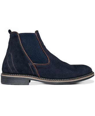 Alfani Men S Shoes Foster Chelsea Boots Shoes Men Macy S