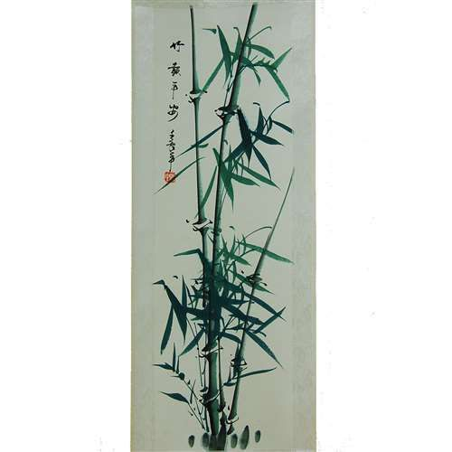 Silk Chinese Painting Oriental Wall Decoration Art Asian Wall Scroll