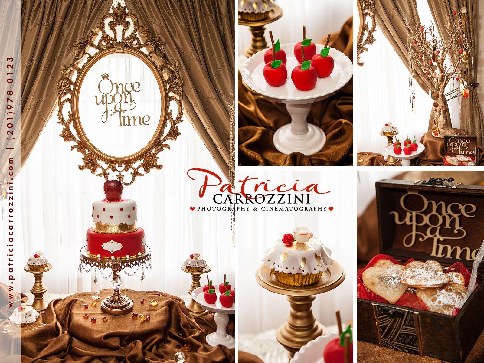 Once Upon A Time Abc 4 Season Sweet Table Inspiration 25th Bithday