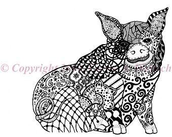 pattern piggy coat - Google zoeken