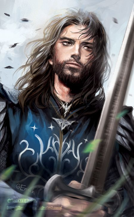 Aragorn by fromKITnoc on DeviantArt