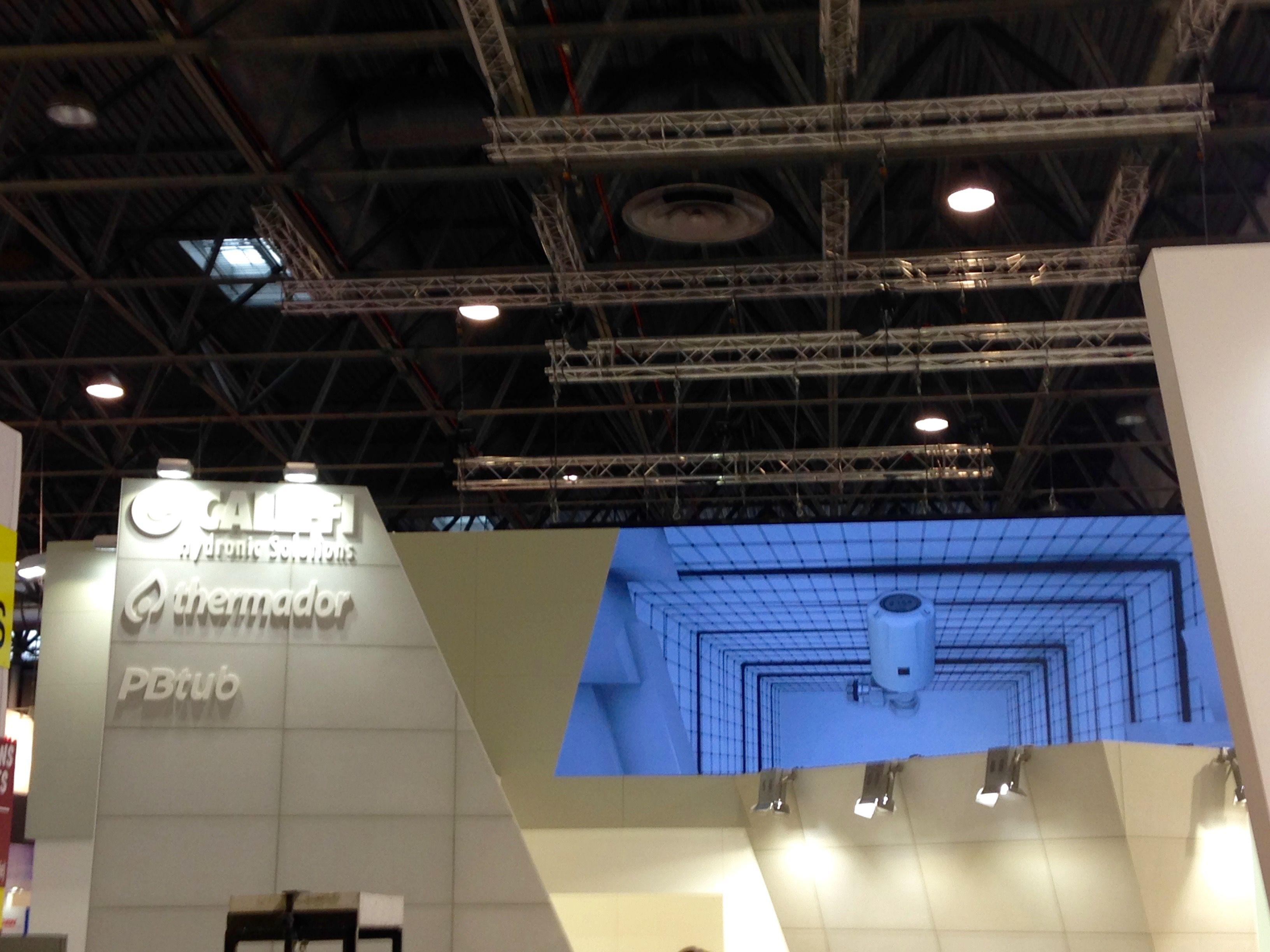 Caleffi HVAC design B2B exhibitions